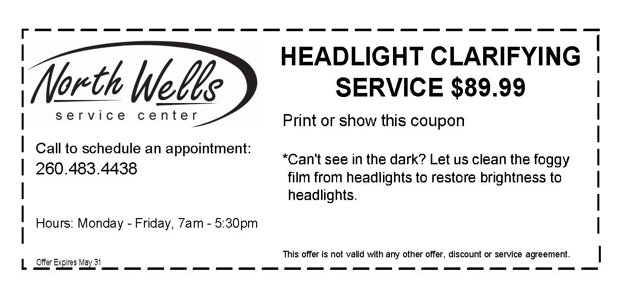 Headlight Clarifying Service
