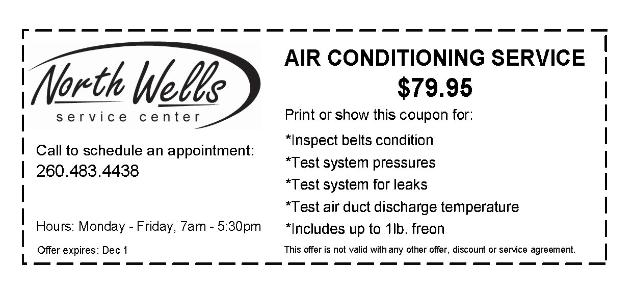 Air Conditioning Service only $79.95